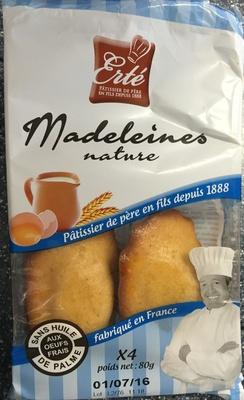Les Madeleines Nature - Produit - fr