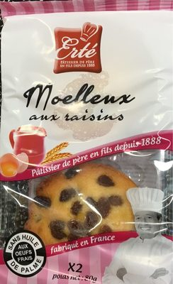 Moelleux aux raisins - Product