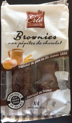 Brownies aux pépites de chocolat - Product - fr