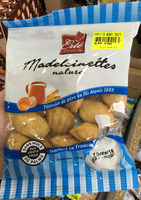 Madeleinettes nature - Producto