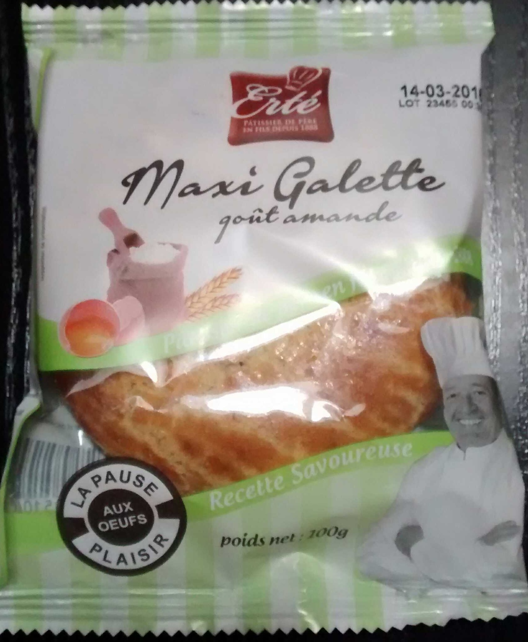 Maxi Galette au goût Amande - Product - fr