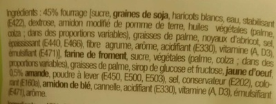 Maxi Galette au goût Amande - Ingrediënten - fr