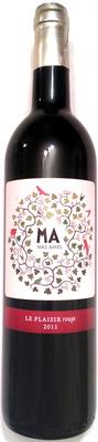MA - Mas Amiel - Le Plaisir rouge 2011 - Produit - fr