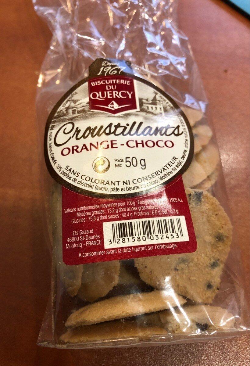 Croustillant orange-choco - Product - fr
