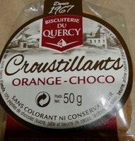 Croustillant orange-choco - Ingrediënten - fr