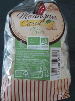 Meringue citron - Produit - fr