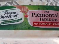 Piémontaise Jambon - Produit - fr