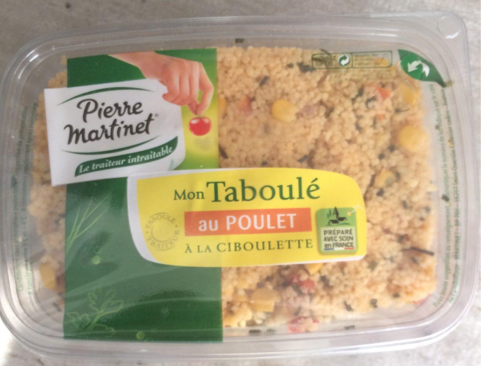 Mon Taboulé au Poulet à la ciboulette - Producto