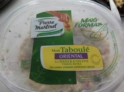 Mon taboulé oriental à l'huile d'olive vierge extra - Produit - fr