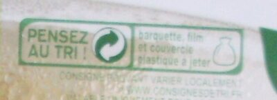 Taboulé au poulet à la ciboulette - Recyclinginstructies en / of verpakkingsinformatie - fr