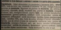 Duo Céleri Rémoulade & Carottes Râpées - Ingrediënten