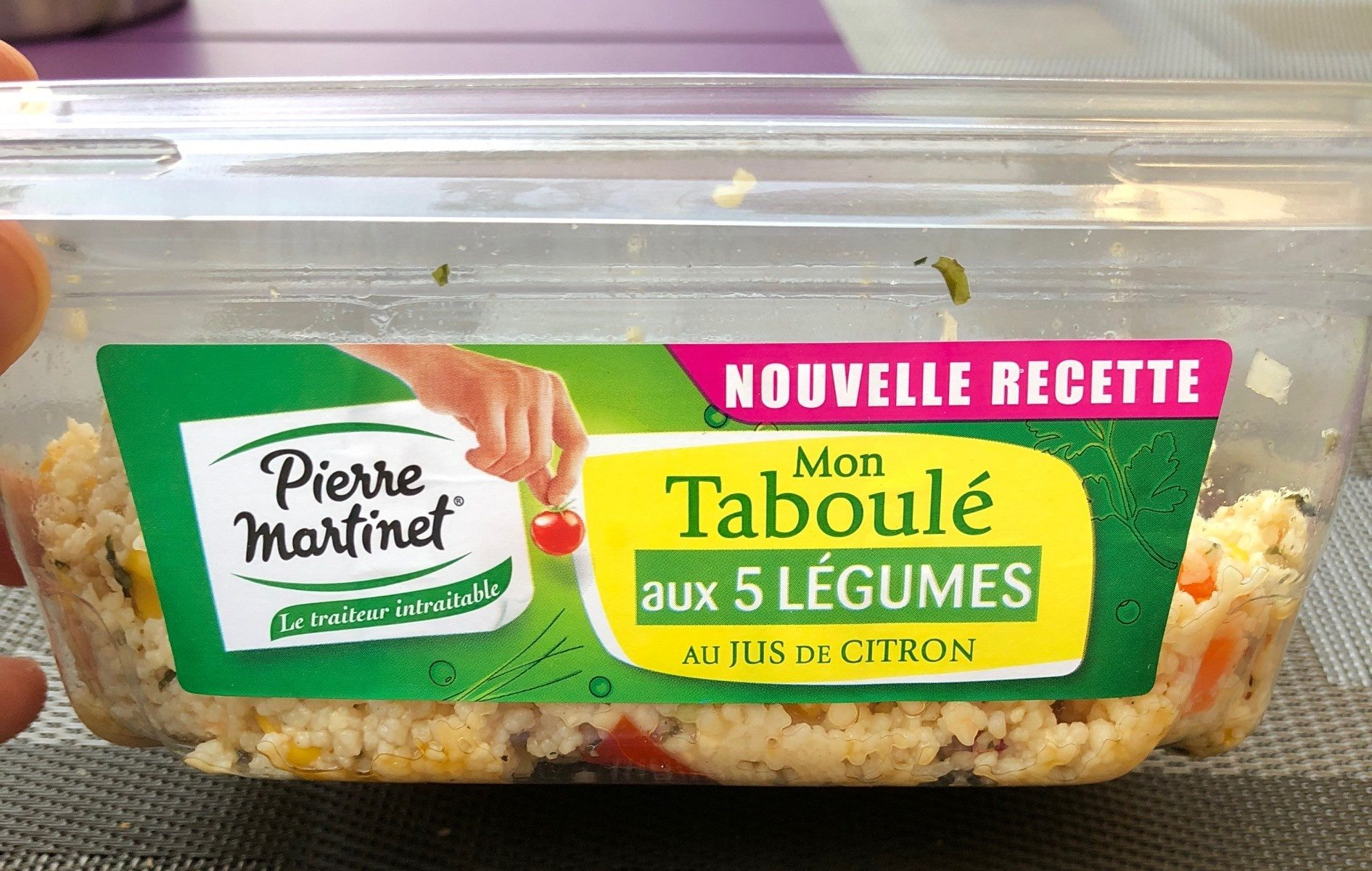 Taboulé aux 5 Légumes - Product