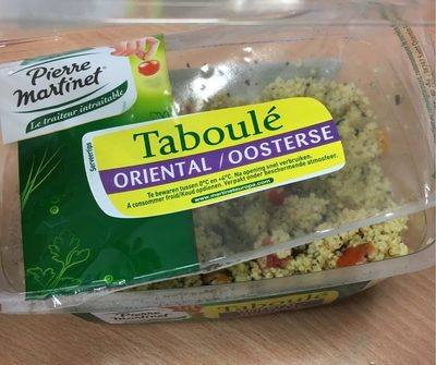 Taboulet oriental - Produit - fr