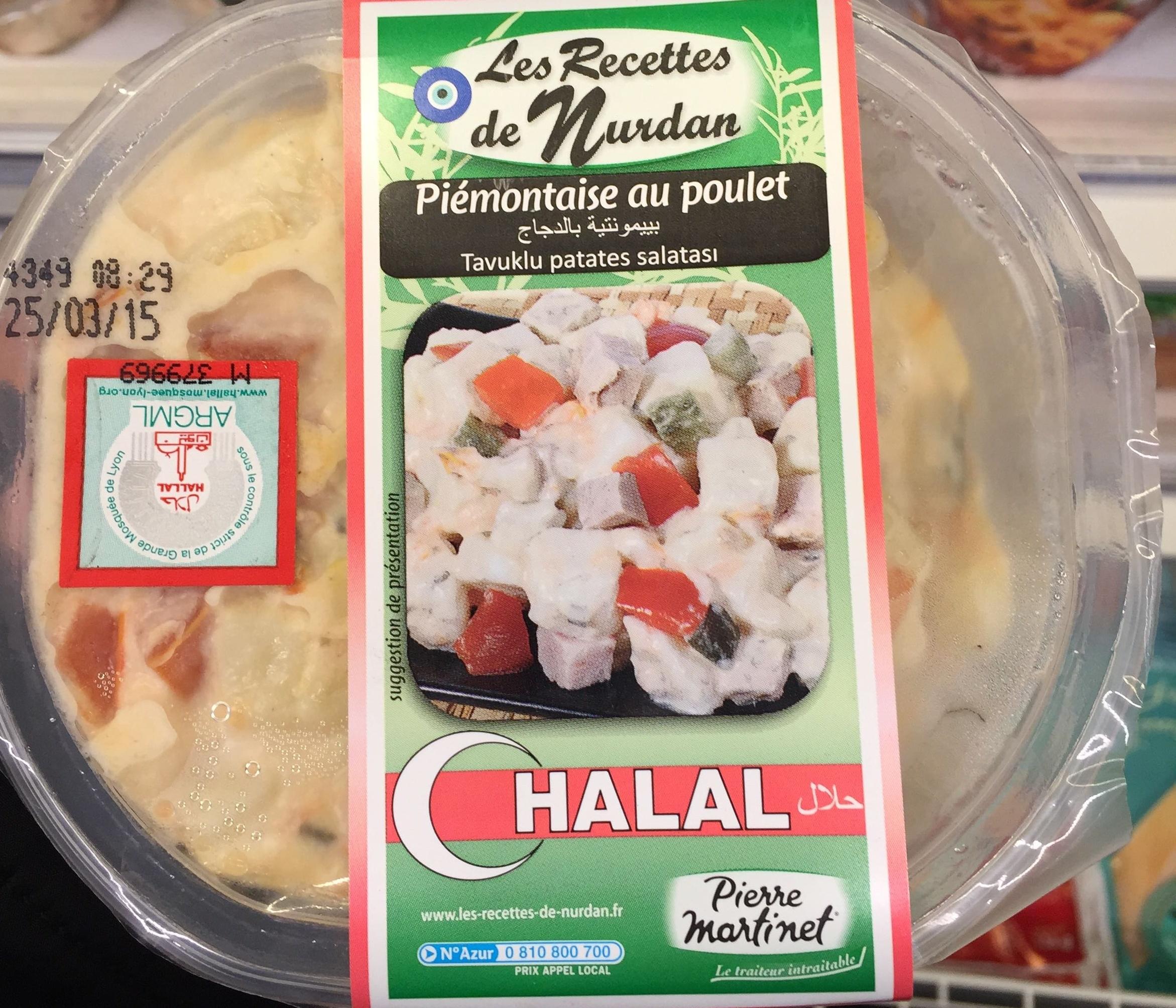 Piémontaise au poulet - Produit - fr