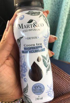 Green tea Raspberry Blackcurrant - Product - fr