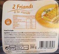 2 friands à la viande - Produit - fr