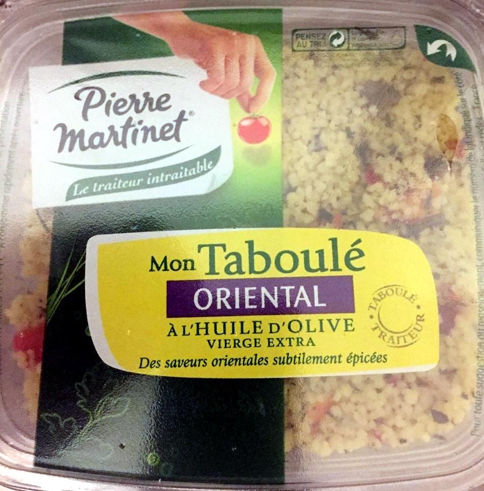 Mon Taboulé Oriental à l'Huile d'Olive - Product