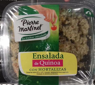 Ensalada de quinua con hortalizas