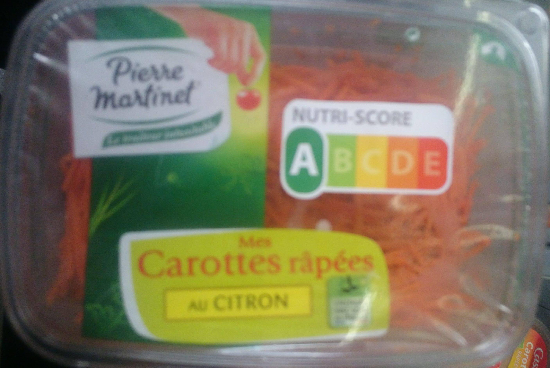 Mes Carottes Râpées au Citron - Produit