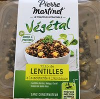 Trio de lentilles à la moutarde à l'ancienne - Végétal - Product