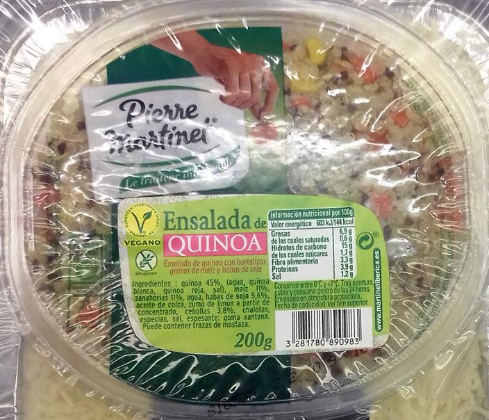 Salada de quinoa - Producto