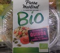Ensalada de quinoa con tomates y semillas de calabaza Bio - Producte