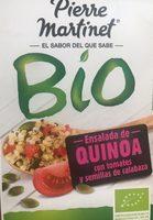 Ensalada de quinoa con tomates y semillas de calabaza Bio - Produit