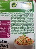 Ensalada de bulgur - Ingrediënten