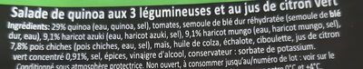 Salade de quinoa aux trois légumineuses - Ingredients - fr