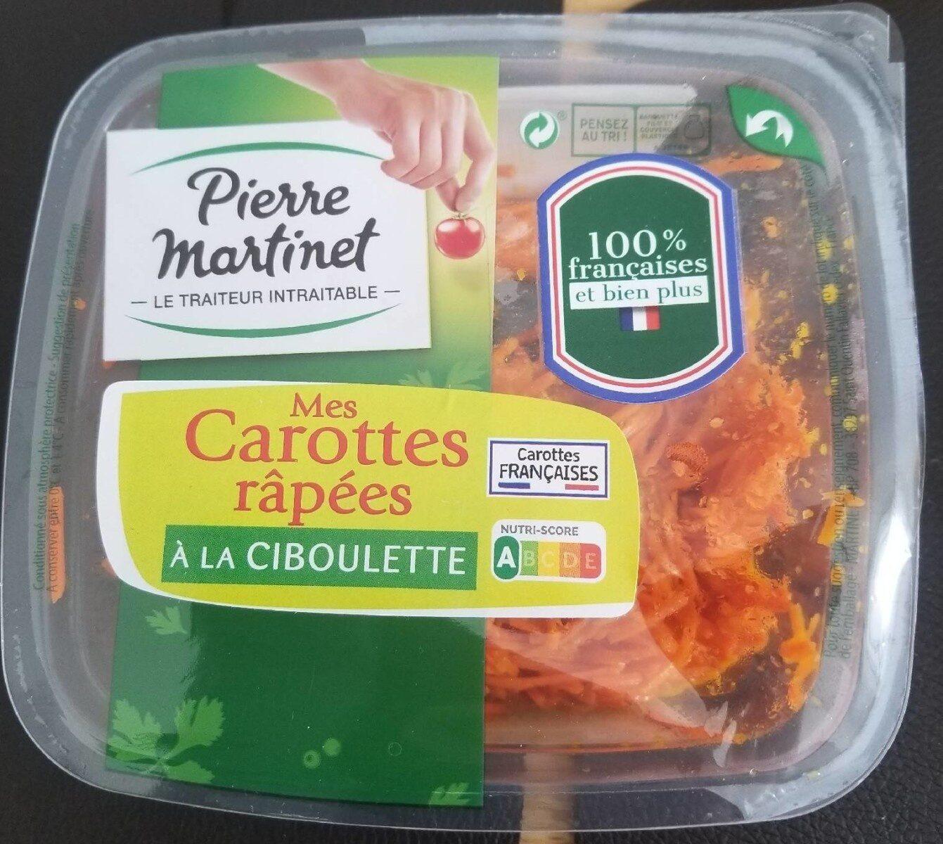 Carottes râpées - Produit - fr