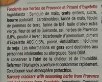 Les pasakas corsés - Ingrediënten - fr