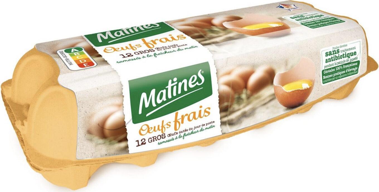 Gros oeufs extra-frais - Product - fr