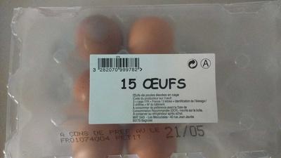 Oeufs - Produkt - fr