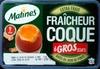 Fraîcheur Coque 6 Gros Oeufs extra frais - Matines -