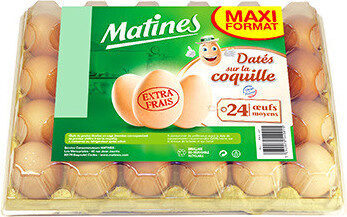Oeufs frais Matines - Produit - fr