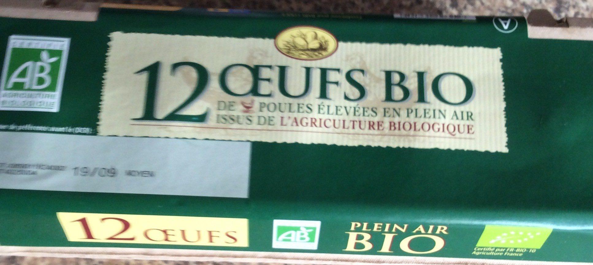 12 œufs BIO - Product