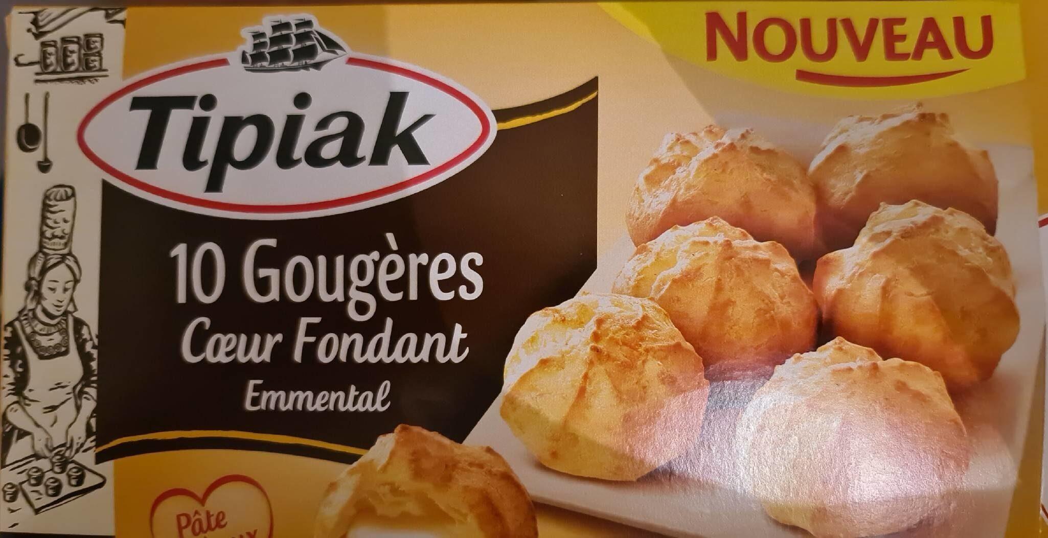 10 Gougères Coeur Fondant Emmental - Product - fr