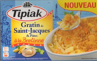 Gratin de Saint-Jacques & Pâtes - Produit - fr