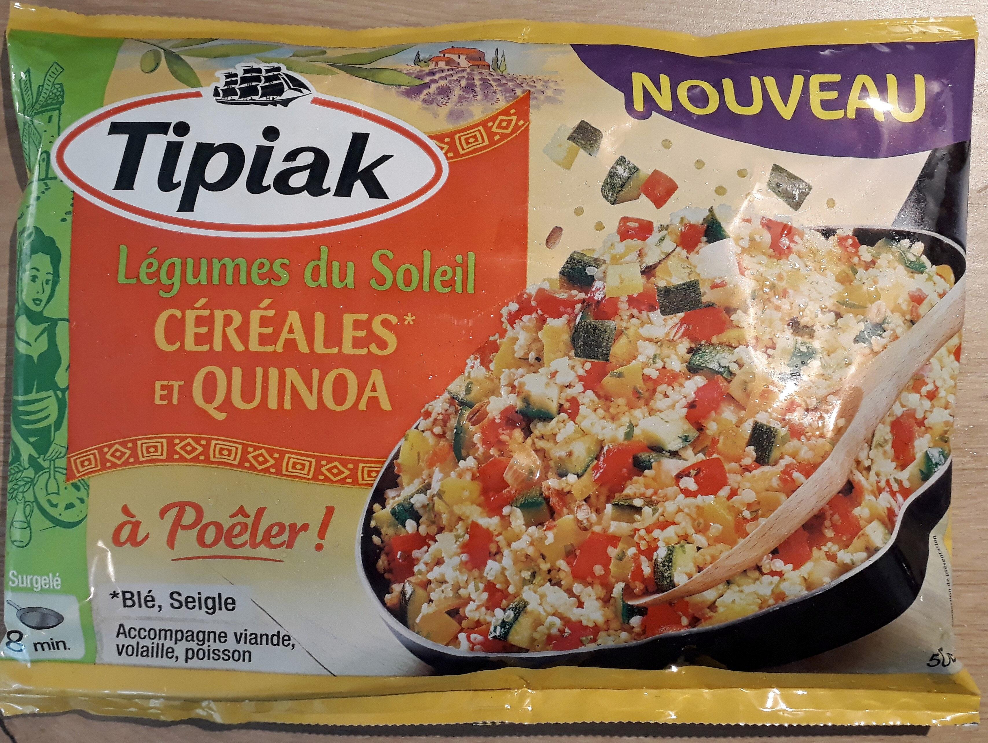 Legumes du soleil, céréales et quinoa à poêler - Product