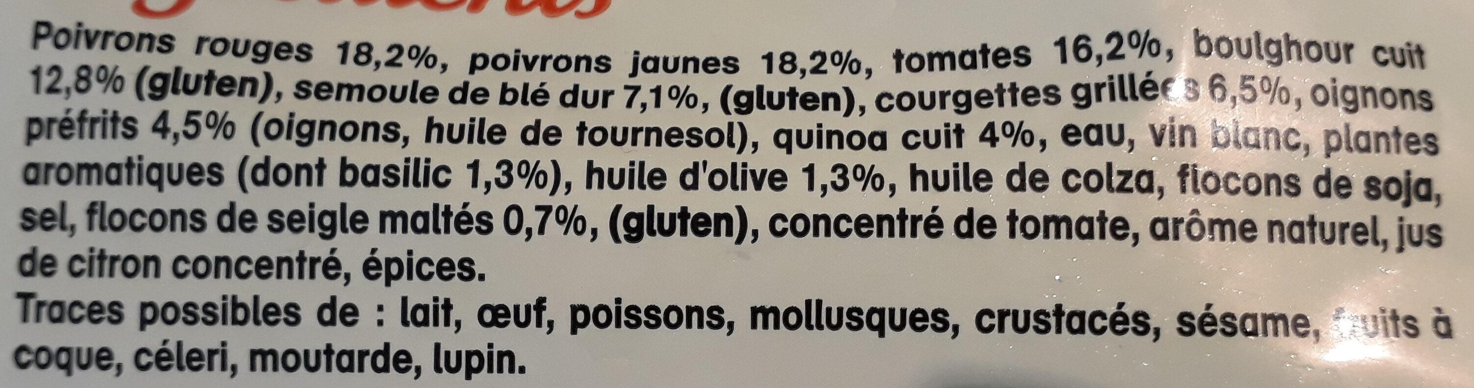 Legumes du soleil, céréales et quinoa à poêler - Ingrediënten