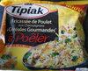Fricassée de poulet aux champignons et cereales gourmandes - Produit