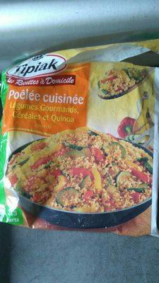 Poêlée cuisinée légumes gourmands, céréales et quinoa - Product