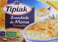 Brandade de Morue Parmentier à l'Huile d'Olive (5 %) et aux Fines Herbes, Surgelée - Produkt - fr