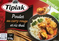 Poulet au curry rouge et riz thai - Product