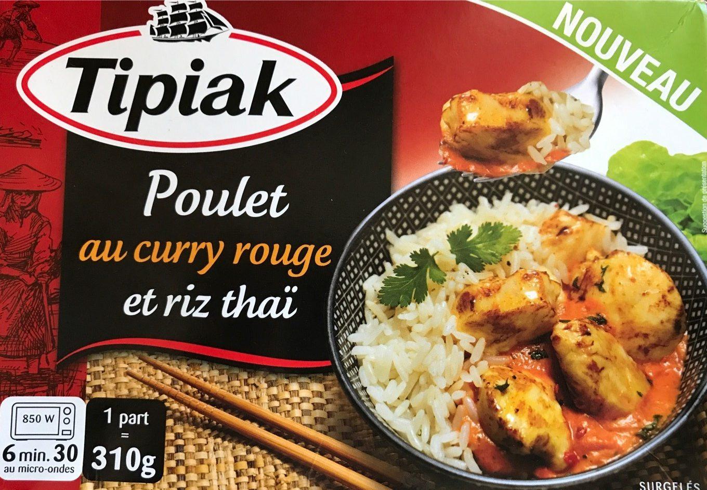 Poulet au curry rouge et riz thai - Product - fr
