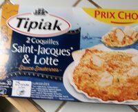 2 coquilles saint-Jacques & lotte, sauce sauternes - Produit