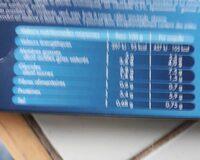 2 coquilles saint-Jacques & lotte, sauce sauternes - Informations nutritionnelles