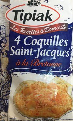 4 coquilles saint-jacques - Product