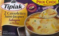 Cassolettes saint-jacques - Produit