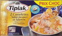 Cassolettes de Saint-Jacques et Saumon - Produit